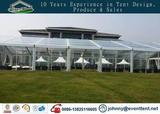 Durable Transparent Wedding Party Tent With Decorative Inner Lining CE Approval