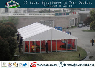 China Durable Wedding Party / Trade Show Custom Event Tents With Transparent Window supplier