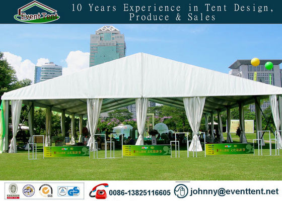 25 X 50m Tarpaulin Covering Large Commercial Party Tent With Chairs / Tables