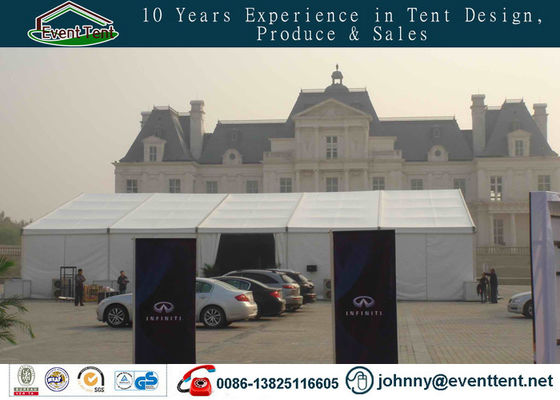 China 500 People Aluminum Frame Outdoor Large Event Tent For Car Trade Show SGS supplier