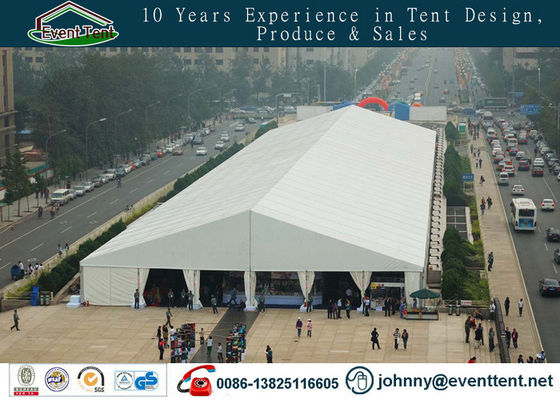 China Customized Sports Events / Trade Show Tent Aluminum Frame For 1000 People supplier