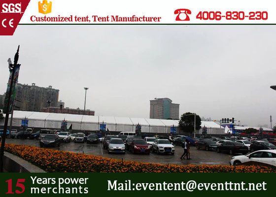 China 15*40 meters aluminum A frame tent for 400 people luxury event wedding supplier