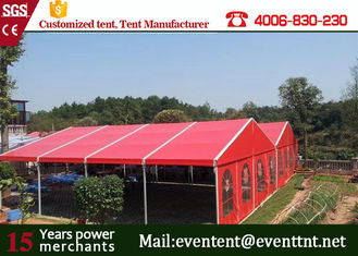 China 35m clear span wide heavy duty A frame tent as wedding event site for Europe supplier