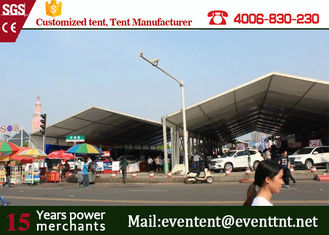 China 600 people luxury large clear span structure A frame tent for party supplier