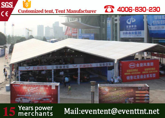 China 800 people luxury huge clear span structure A frame tent for wedding supplier