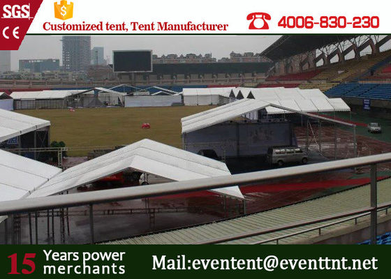 China 1000 people luxury big clear span structure A frame tent for music concert supplier