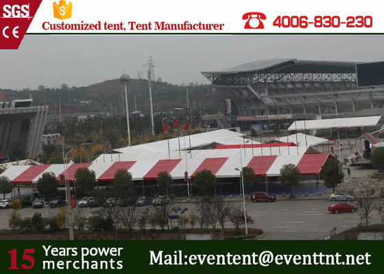 China 3000 people luxury giant clear span structure A frame tent for event supplier
