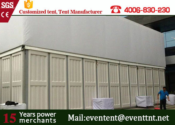China Inflatable Roof Cover Wedding Party Tent For Hotel Reataurant Mesh Window supplier