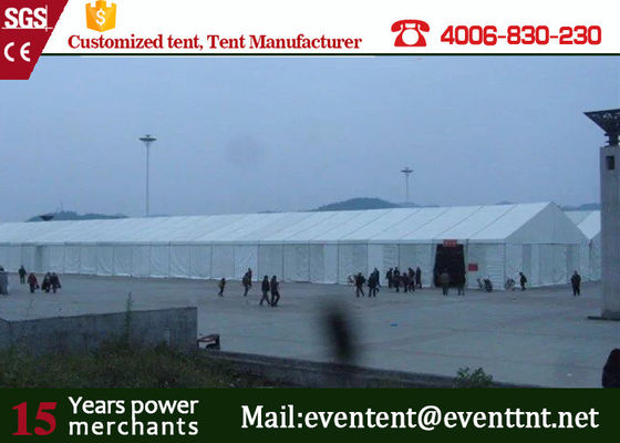 China Easy Up Folding Outdoor Warehouse Tent Color Optional Tear Resistant /  Self - Cleaning supplier