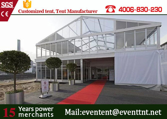China Aluminum Alloy Frame Clear Top Wedding Tent 30 Meters For Outdoor Sport supplier
