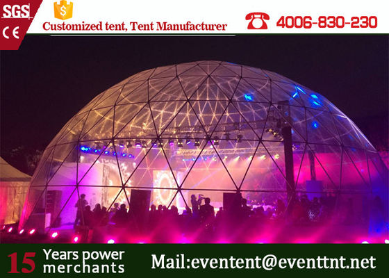 30 meters large steel frame structure Large Dome Tent for Wedding Party