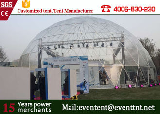 Aluminum Alloy  Frame Large Dome Tent House 25 Meters Movable For Big Campaign