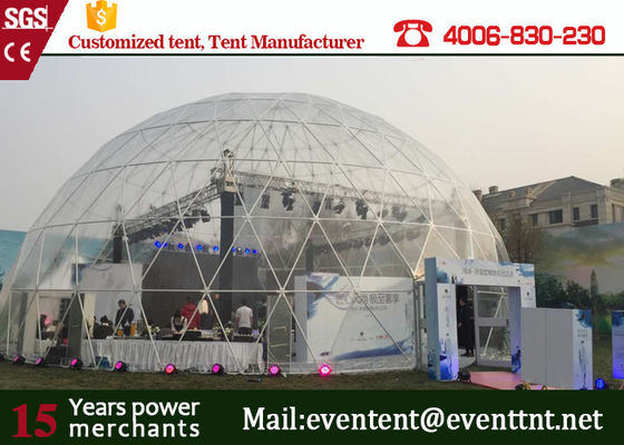 25m water - proof high snowload large dome tent for festival event show