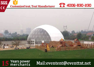 Easy Assemble Outdoor Large Dome Tent 45m Diameters With Steel Structure