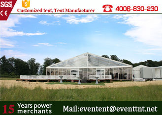 China Fashion Wedding Clear Span Tent Easy Assemble With Transparent Cover ISO supplier