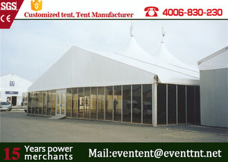 China Large A Frame Tent Party Tent Aluminum Frame Material With Floor System SGS supplier
