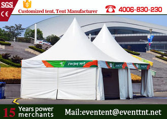 China Brand New strong aluminum pagoda party tent house with transparent windows supplier