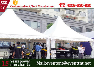 Guangzhou luxury event 5x5m aluminum pagoda tents for party event