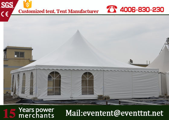 polygonal graceful medieval tents gazebo tent 6x6m for sale with ISO certifacation