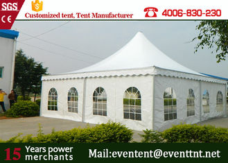 luxury wedding 10 x 10m aluminum structure pagoda tents for wedding and events