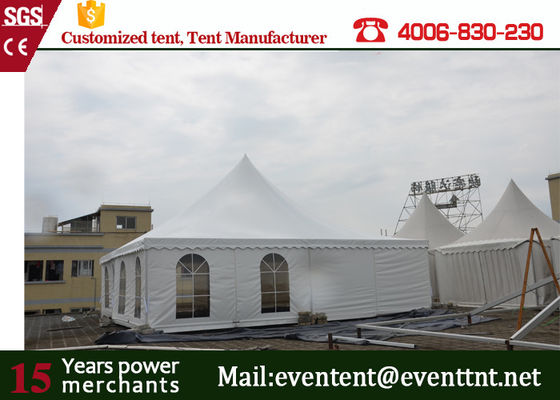 6 x 6m permanent outdoor tent pagoda party tent with fire ratardant cover