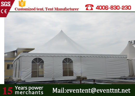 Transparent Pagoda Shaped Garden Party Marquees Tent For Business Advertising