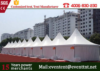Folding Instant Canopy Tent , Custom Heavy Duty Gazebo Frame For Restaurant