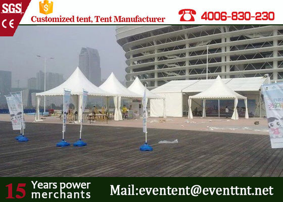 Luxury Camping  Pagoda Party Tent With Floor System Folding / Mosquito Net