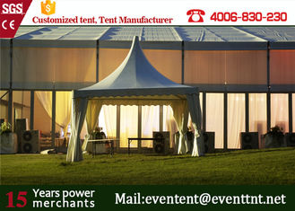 China Heavy Duty Wedding Party Tent marriage Pagoda tents PVC skin With Aluminum Structure supplier