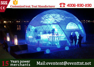 Heavy Duty  Dome Tent Dome House For Music festival with Durable glass Door