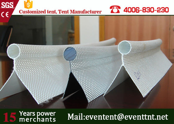 China Tent Accessories 25mm Panama Fabric Single Flap Keder Diameter 9mm ISO Approved supplier
