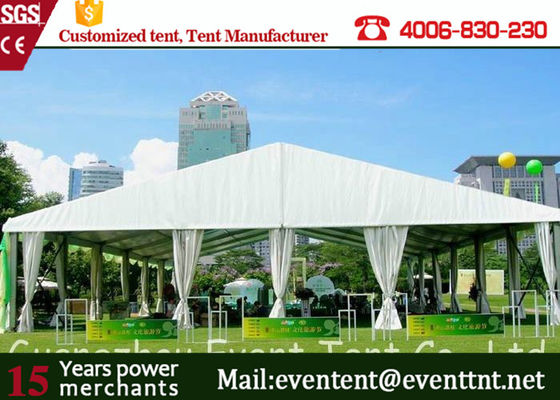China 500 Person Wedding Party Tent Customized UV Resistance With White Cover supplier
