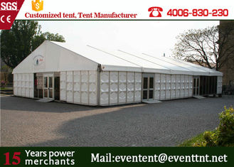 China Aluminum Profile Second Hand Camping Tent For Outdoor Warehouse 35 x 50m supplier