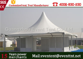 China Quick Installation Large Outdoor pagoda Tent With PVC Coated Polyester Fabric Cover supplier