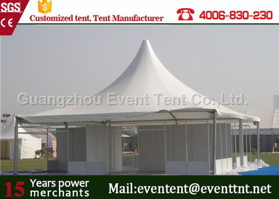 Quick Installation Large Outdoor pagoda Tent With PVC Coated Polyester Fabric Cover