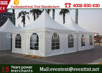 China White Large Outdoor Tent Commercial Gazebo Heavy Duty ISO Certification for wedding supplier
