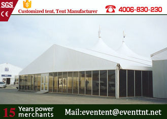 China Clear Span Fabric Structures A Frame Tent 50m For Conference Event ISO supplier