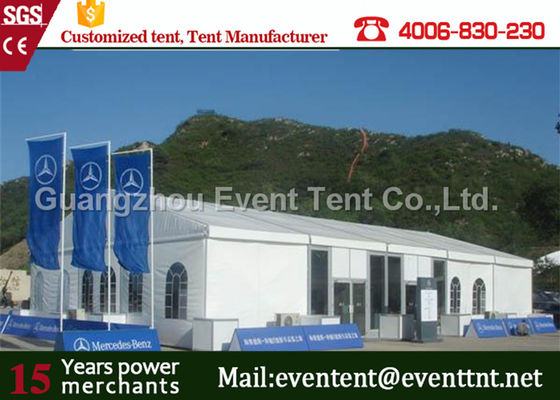 Customized Marquee Large Outdoor Tent Fireproof pvc For Car Show Exhibitions