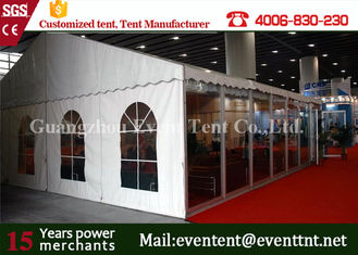 Double PVC Cover Large Outdoor Tent 850g / Sqm For Car Exhibition Event