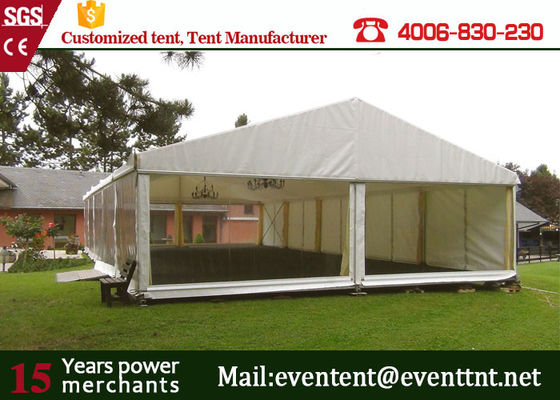 China M20 A Frame Tent Aluminum Frame Structure With Furniture Tear Resistant supplier