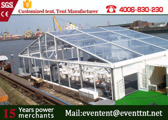 China aluminum structure PVC fabric a frame tent for promotion events supplier