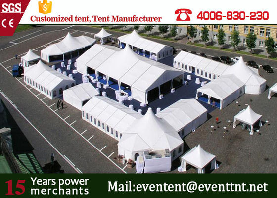 China white color a frame tent wedding marquee tent for party events supplier