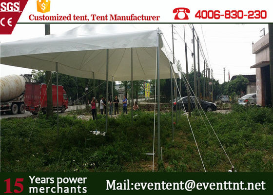 China Pop Up Canopy Tent With Aluminum Frame , Second Hand Camping Tents Windproof supplier