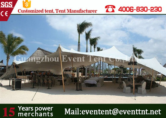 China Portable Mobile Garage Tent Waterproof , Sun Shade Canopy Tent Transparent supplier