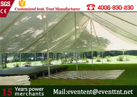 China Luxury Interior Design Freeform Stretch Tent With Colorful PVC Fabric Cover supplier