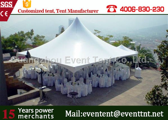 China Outdoor camping marquee ISO  pagoda party tent with decoration for event cerebration supplier
