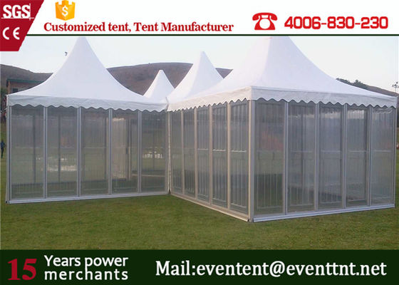 New aluminum frame best price pagoda party tent on sale for wedding in China