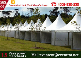 Waterproof cover canopy pagoda party tent with transparent PVC window for luxury wedding