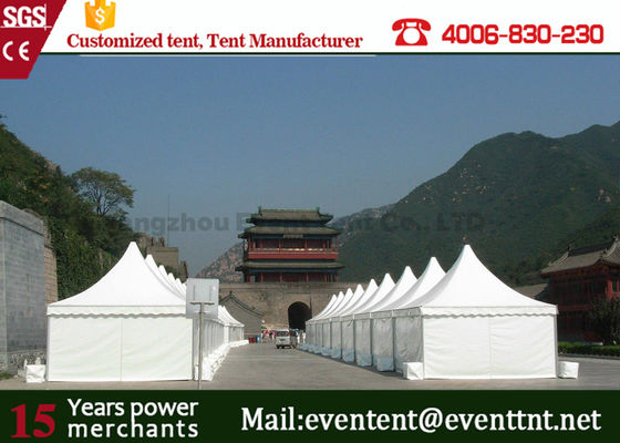 Large commercial party tents Sidewall PVC Fabric Cover For Exhibition Promotion Event