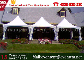 China Easy Assembly Luxury Pagoda Party Tent Transparent For Family Camping ISO supplier